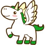 【動物占い】強靭な翼を持つペガサス(グリーン)の性格や相性について