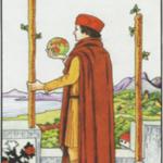 【小アルカナ】ワンドの2(Two of wands)の基本的な意味と正位置・逆位置